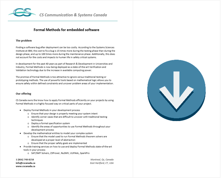formal methods brochure download